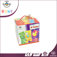 Promotional Custom Cube Kids Jigsaw Paper Puzzle
