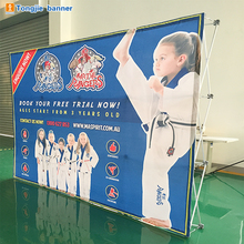 Aluminum advertising exhibition fabric pop up backdrop banner stand display