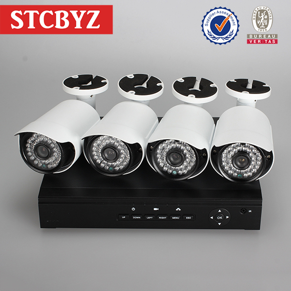 Full hd 960p camera p2p support mobile view poe network nvr
