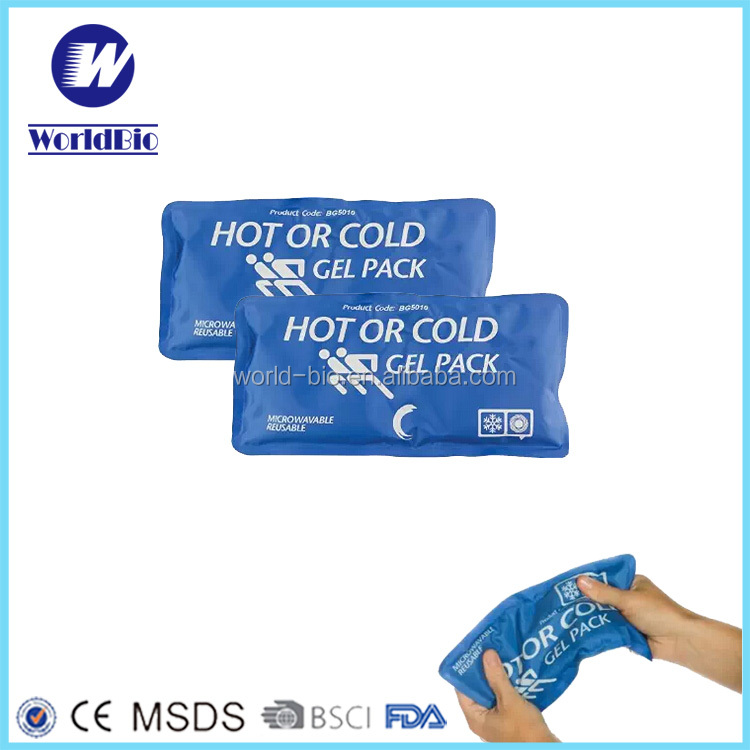 Hot & Cold Reusable Gel Pack Nylon ice pack gel cold therapy with warp wholsales