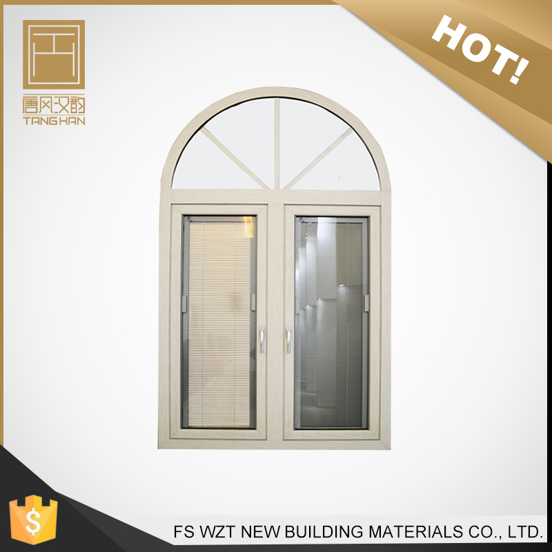 Best selling products american style bathroom metal aluminum glass louver windows