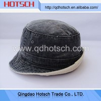 OEM wholesale 100 cotton red bucket hat