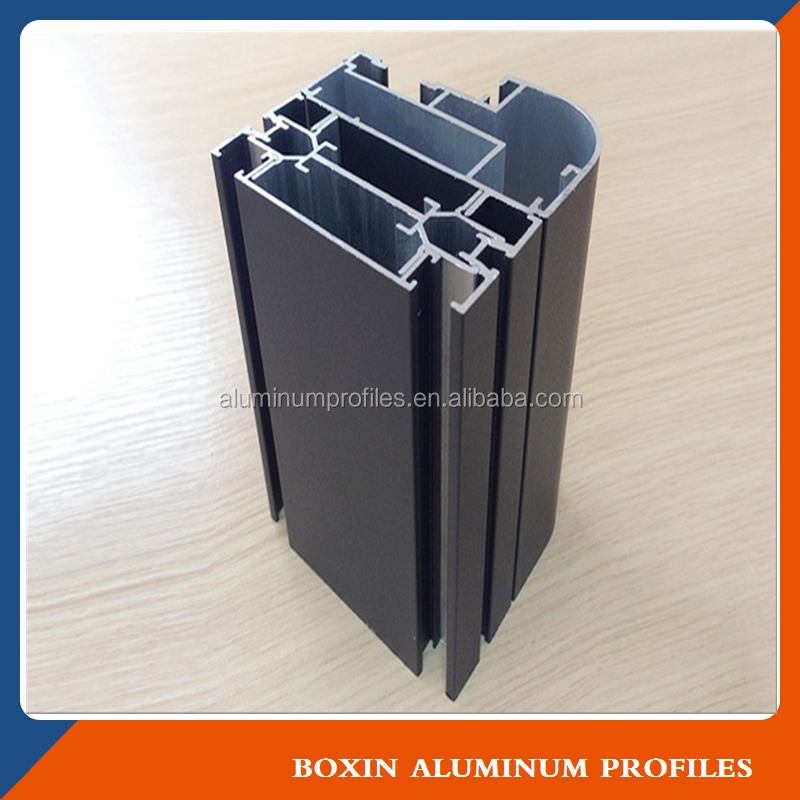 6000 Grade 6063 6061 6063A T5 T6 Extrusion Frame aluminum profile to make windows and doors