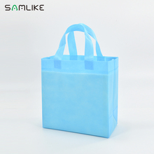 Small machine made print non woven gift bag with cheap price