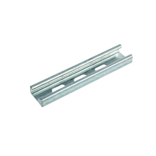 Single electrical strut slotted duct c channel support