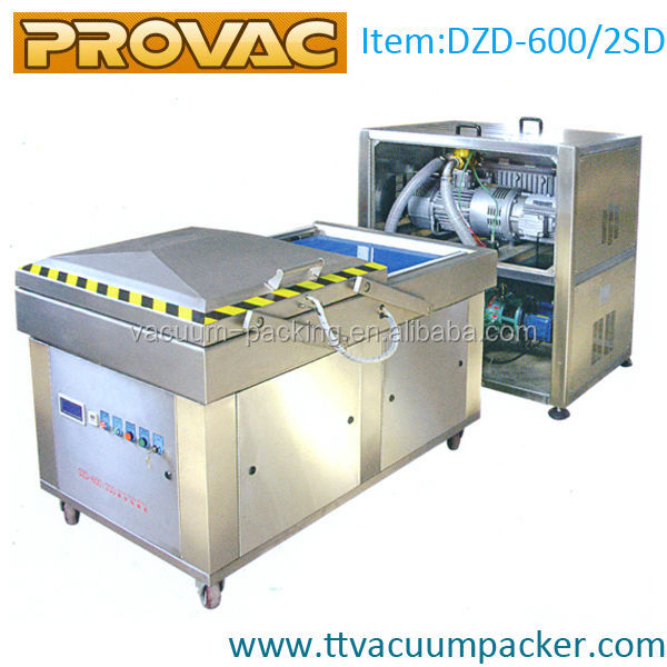 frozen pork meat automatic vacuum packaging machine