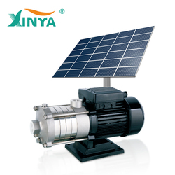 Domestic garden solar dc water pressure booster pump