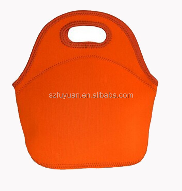 promotional neoprene lunch bag beach bag for women kids lunchbags