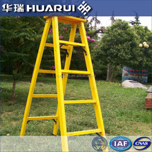Hot sale yellow Customized insulated Frp step ladder