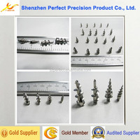 cnc machining titanium screws surgical
