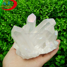 hot new opal color natural healing stone spirit quartz, angel aura quartz crystal