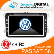 "8"" touch screen Bluetooth 2 din Car Stereo Dvd for VW Passat B6 2009-2011"