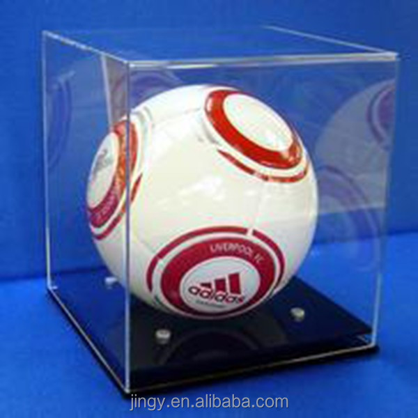 modern superior quality pmma plexiglass acrylic soccer ball display case
