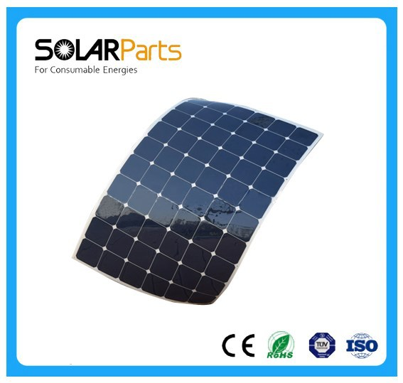 High efficiency poly 200w flexible solar sunpower panels for Marine,Boat, Yachts,camping solar system, Golf car
