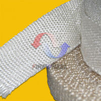 Texturized fiberglass insulation tape for wires hoses pipe protection and thermal insulation