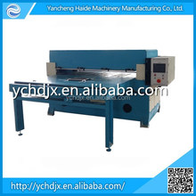 Double side blister die cutting machine with automatic feeding table