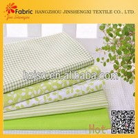 Bedding colorful cheap printed cotton fabric green