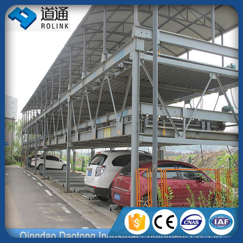 Scientific and economical multi level car parking garage