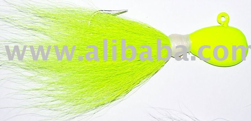 Bucktail Hair Jigs