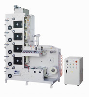 RTRY-620E wider roll adhesive label sticker printing machine for sale