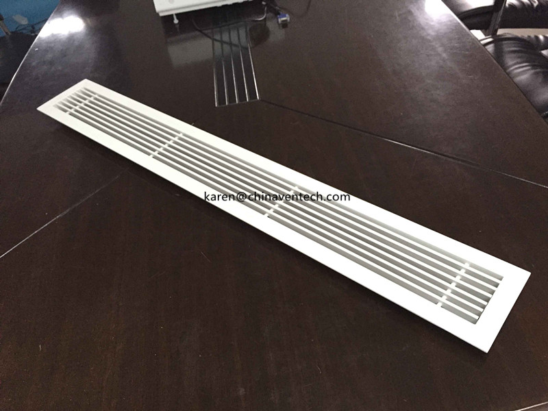 air vent cover high quality aluminium Linear bar grille