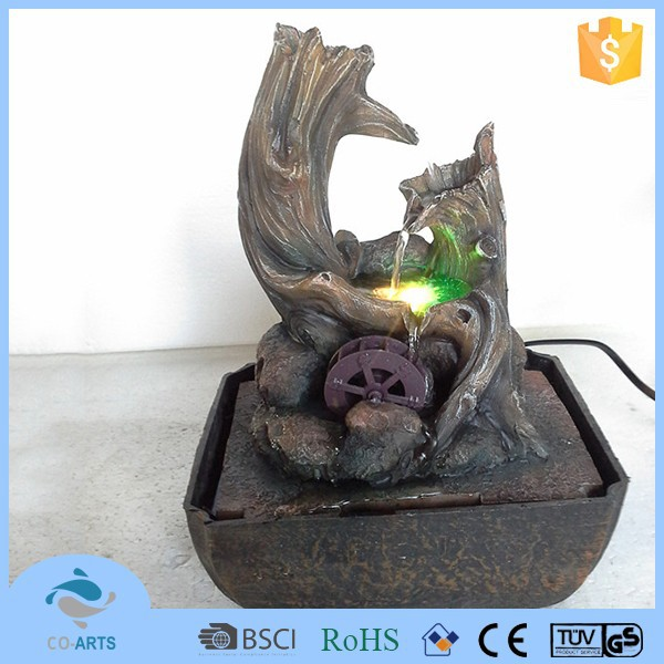 Hot sale natural resin waterfall fountain statue sculpture