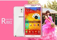 New Arrival Hot Soft Back Cover Case For Samsung Note3 Cell Phone Case Crystal Clear Painted Covers
