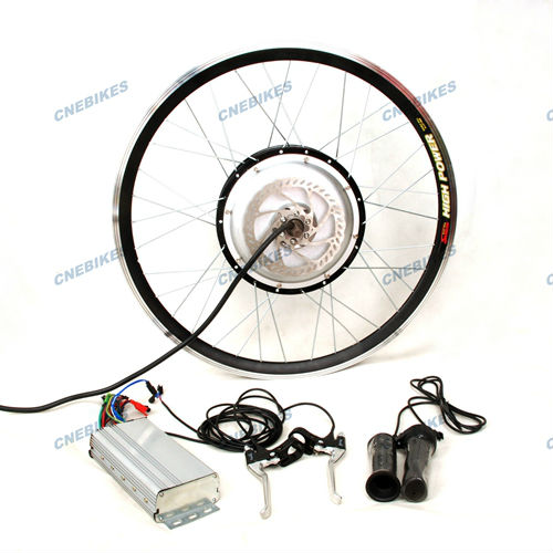 70km/h!High power 1500w electric bike conversion kits