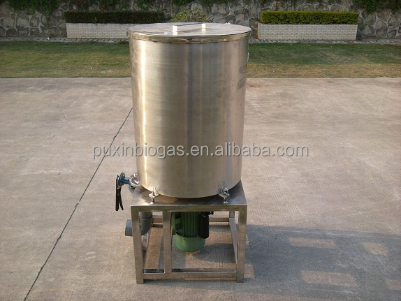 PUXIN industrial food waste disintegrator for medium and large size biogas plant