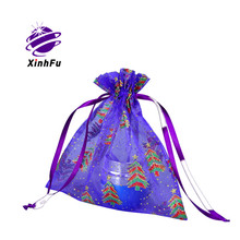 Personalized small packaging transparent organza bags