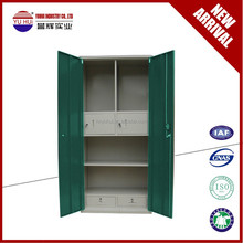 OEM available metal bedroom cupboard style / steel cupboard design / metal wardrobe