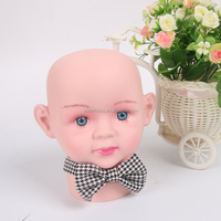 promotional gift fashion grid simple mini baby bow ties for banquet