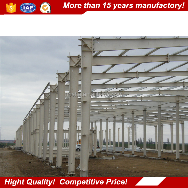 steel building materials / steel construction factory building