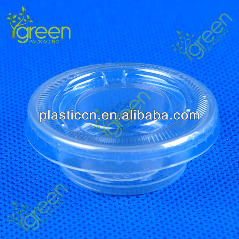 small disposable container/plastic disposable containers/dessert cup