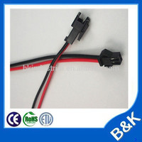 New York market 2pin automotive cable wire harness manufacturer