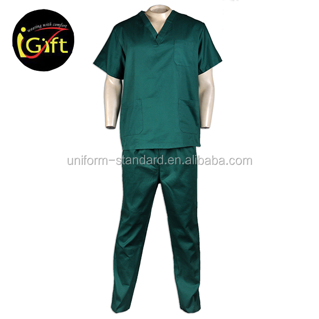 Good Quality New Design Cotton Nursing Scrubs Medical Unifroms Scrubs