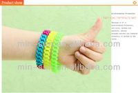 HOT!!!2012 The eco-friendly silicone wrist band made in China