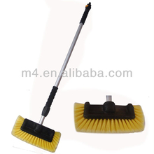 Telescopic Aluminum handle flow-thru car wash brush
