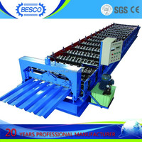 High quality metal deck roll formed making machine