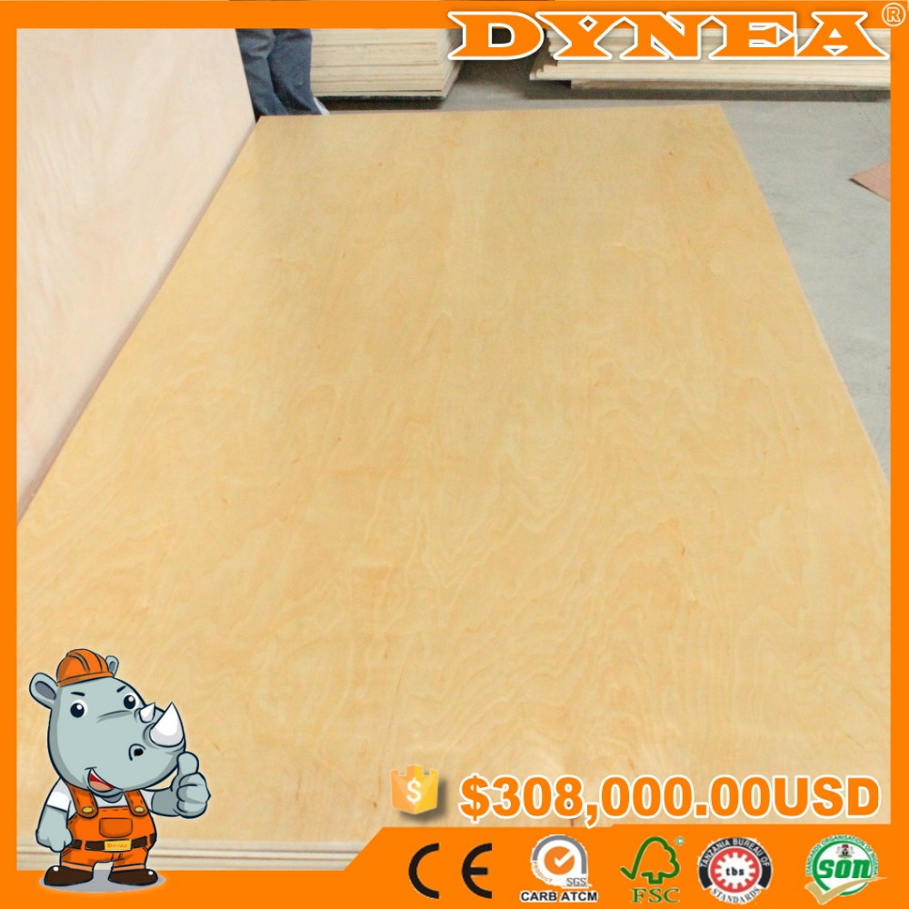 UV WHITE BIRCH PLYWOOD USED FOR FURNITURE FOR USA