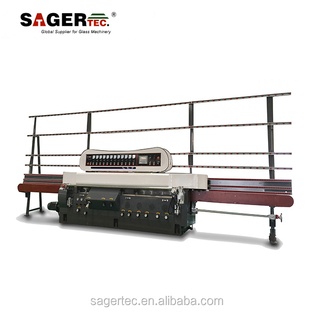 factory supply glass cutting and polishing machine