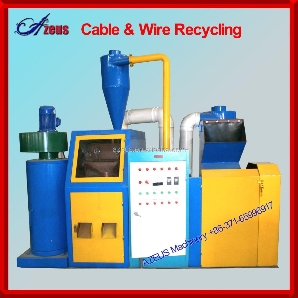 scrap cable recycling machine/ waste cable wire grinder machine with CE