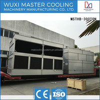 not round superdyma framework cooling tower for Geothermal Pump closed water cooling tower