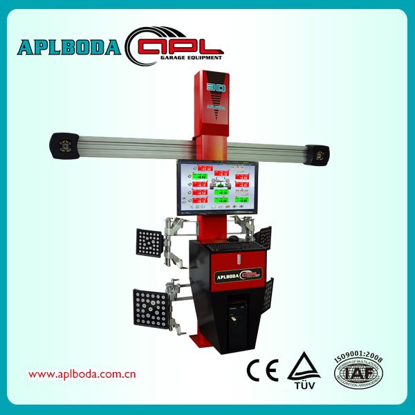 Measurement Camber and Caster+Double Service Strongest 3D Wheel Alignment Machine Price