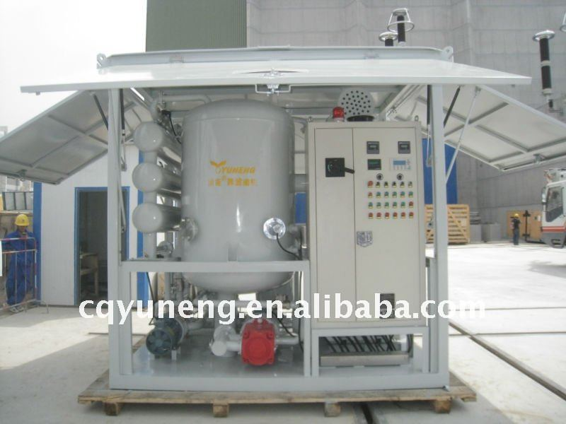 ZJA Series Vacuum Transformer Oil Treatment Plant, Oil Processing Equipment, Oil Reconditioning Device