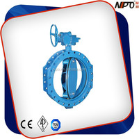 Flanged Single Eccentric Stainless Steel 6 Inch Butterfly Valve