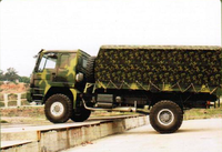 HOWO 4X4 Cargo Militray Truck For Sale