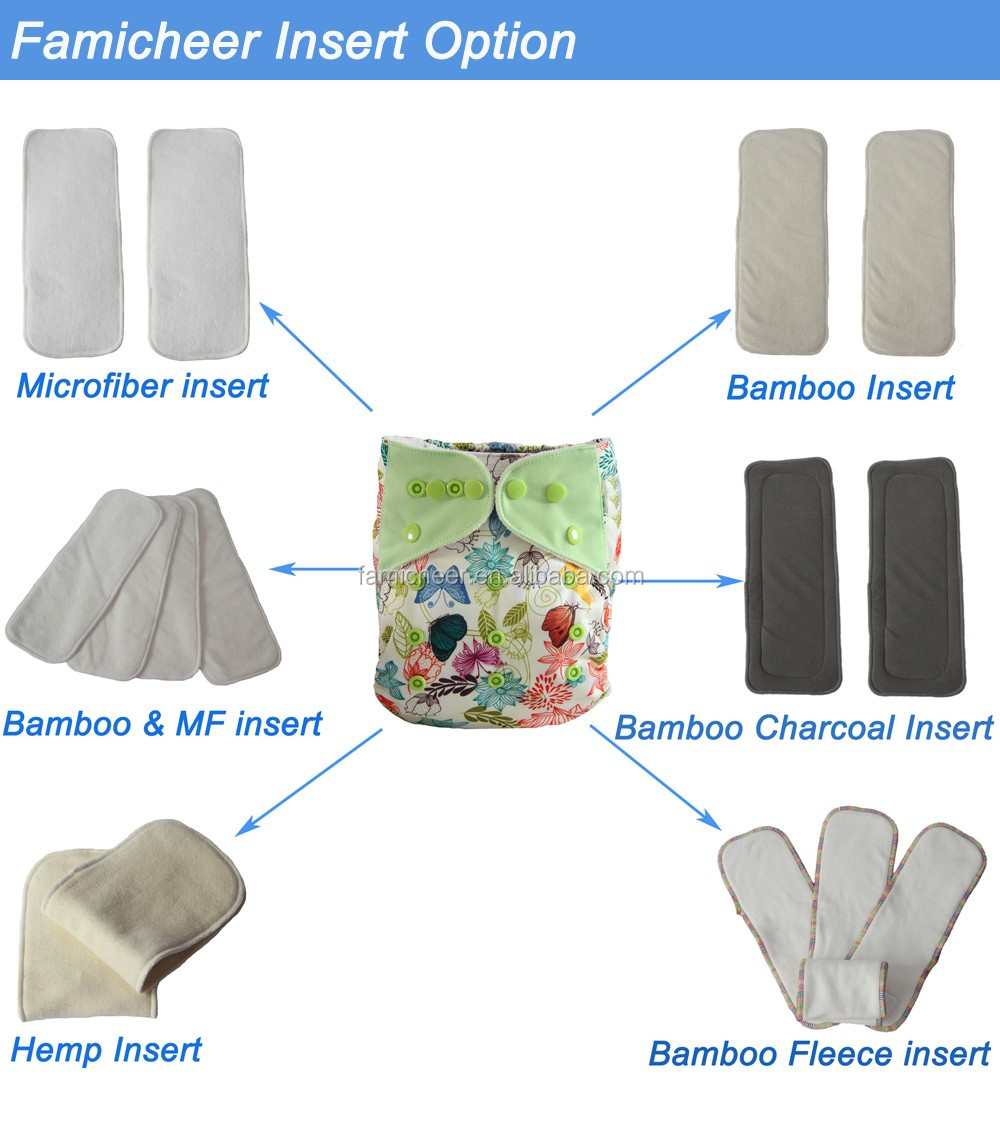High Quality Supplier Of Bamboo Cloth Diaper Baby Care Accessories