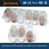 Different size blister PET tray collapsible 6 holes plastic egg cartons