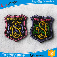 Wholesale new design Embroidered Patches peacock patches